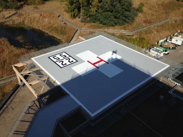 Methodist Hospital Helipad 2