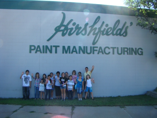 Hirshfield's Paint Manufacturing Plant