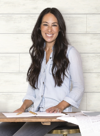 Shiplap wallpaper Joanna Gaines