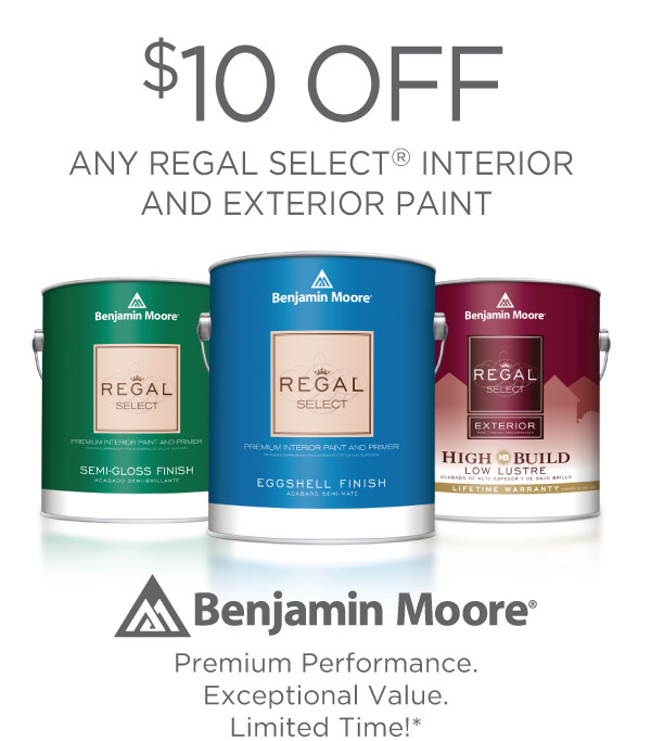 benjamin moore paint regal select