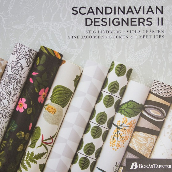 Scandinavian Designers II wallpaper book